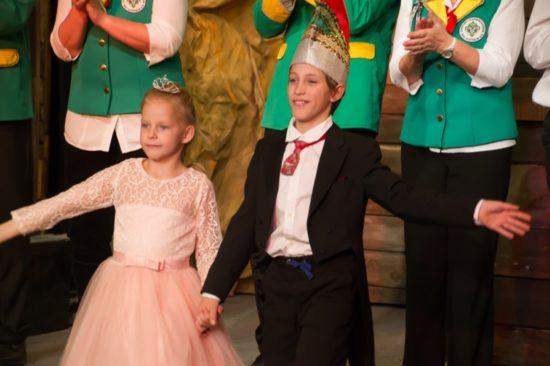das amtierende Prinzenpaar, Prinz Paul I. und Prinzessin Emma I.
