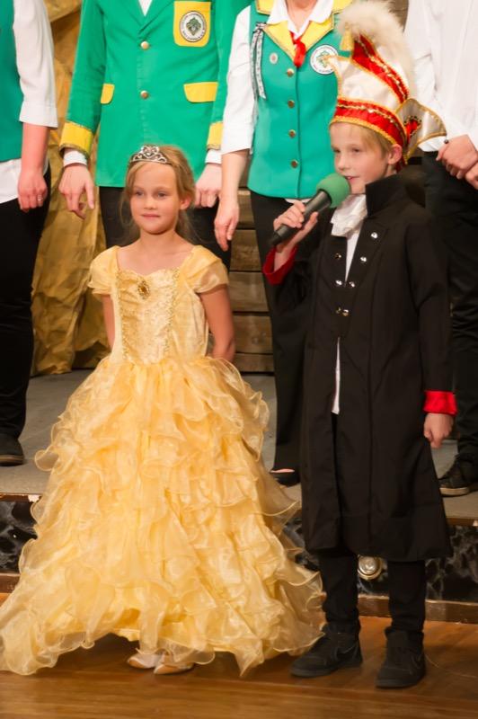 die Neuen: Prinz Malik I. und Prinzessin Mieko I.