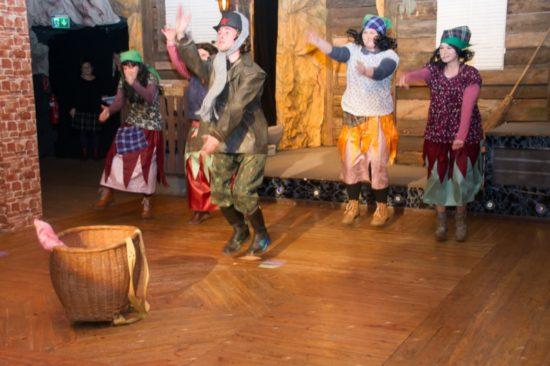 der tanzwütige Fjodor und seine Hexen