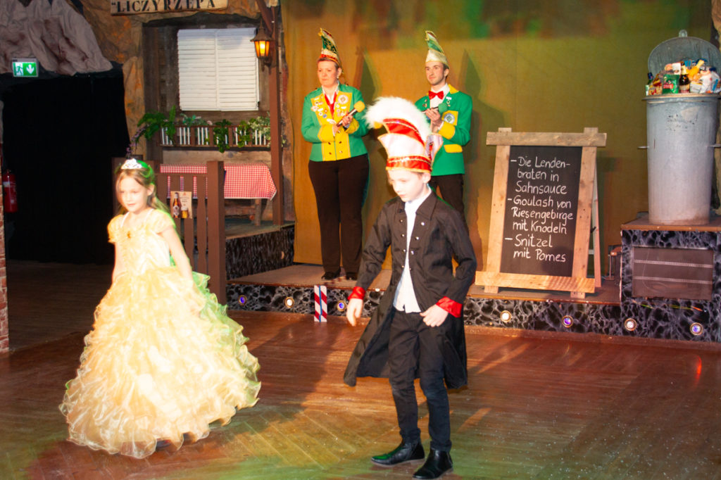 Unser Prinzenpaar: Prinz Malik I. und Prinzessin Mieko I.