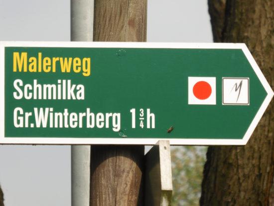 Unser Ziel: der große Winterberg, danach über die Zwieselhütte zurück nach Schmilka.