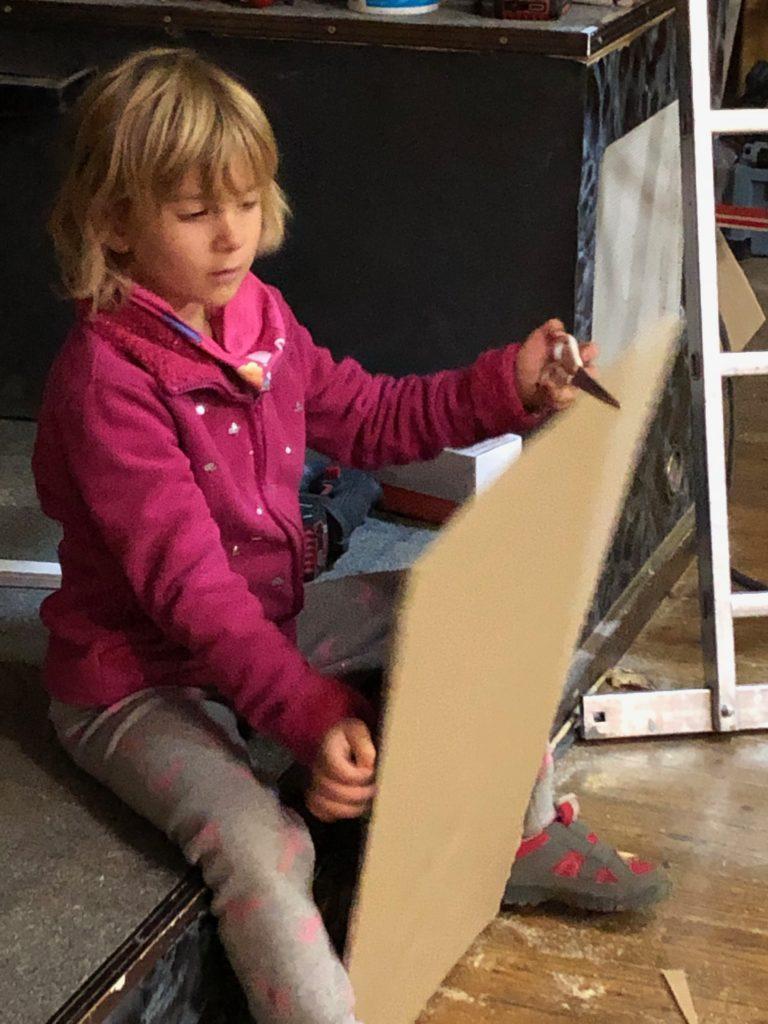 auch die Kleinen sind kreativ