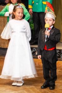 Prinz Joel I. und Prinzessin Hanne I.