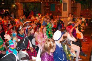 Die kleinen Karnevalisten kamen in Scharen nach Goppeln.