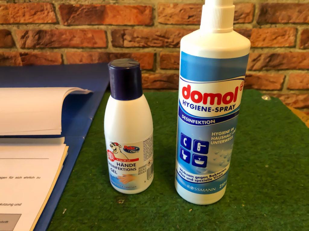 Unser Hygienekonzept funktioniert...