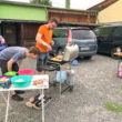 unsere Grillmeister: Lars und Jean-Pascal