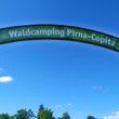 unser Campingplatz in Pirna